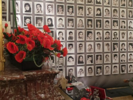 #1988Massacre - 30000 political prisoners in #Iran - Human Rights exhibition in #Paris opened to public in Cityhall 3