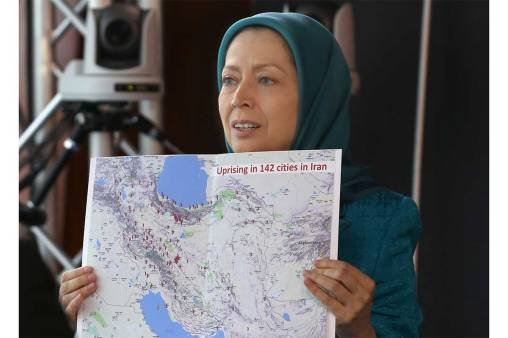 12-2Maryam-Rajavi-at-press-conference-in-the-Parlimentary-Assembly-of-the-council-of-Europe--Immediately-free-those-arrested-in-Iran-uprising2