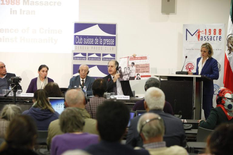 Geneva, Switzerland, Civil society hearing into the 1988 massacre in Iran